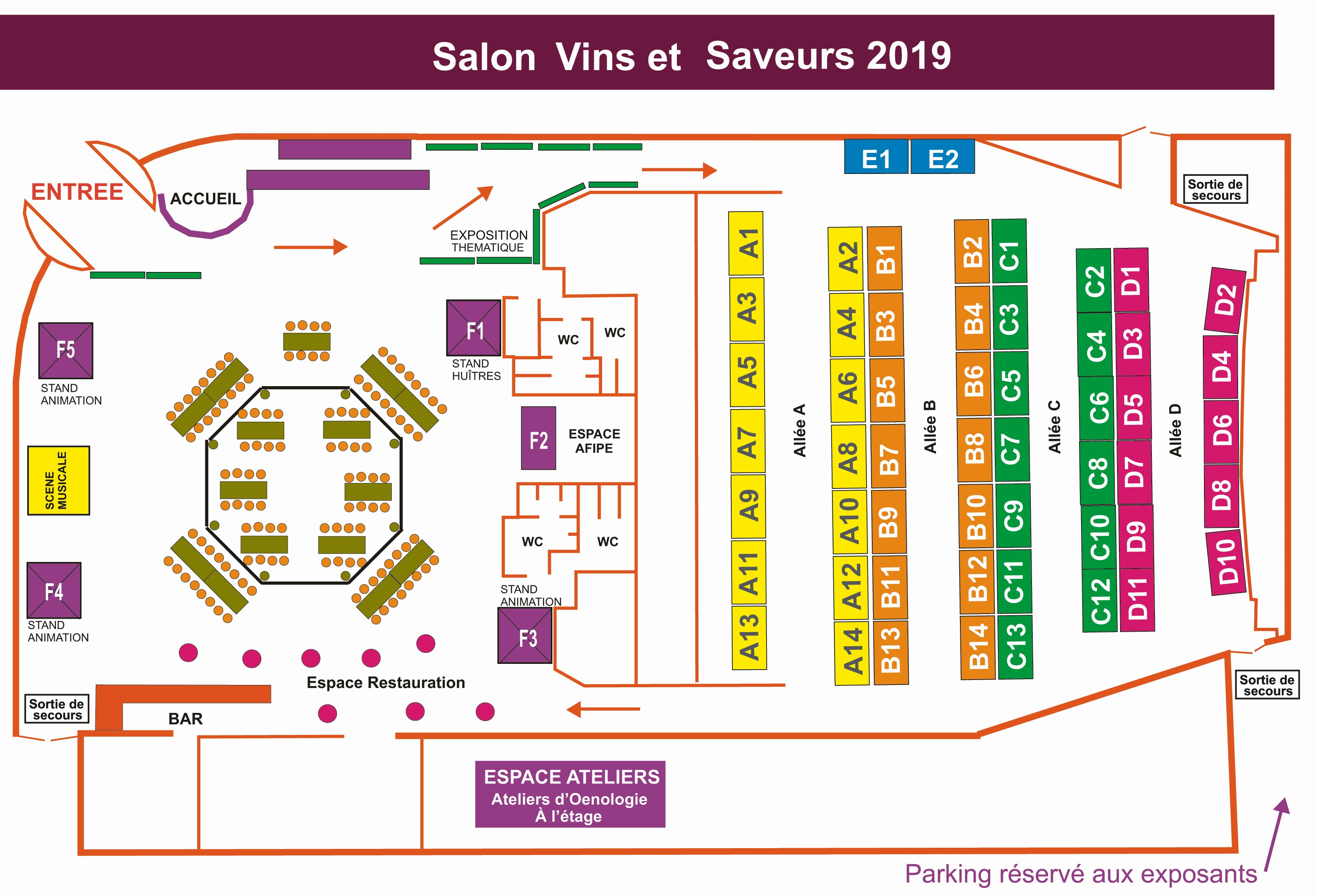 PLAN SALON 2019